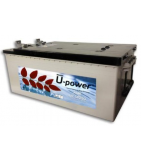 12V 250Ah Batería Solar AGM U-power UP-SP250 12 V 250 A bateria industrial